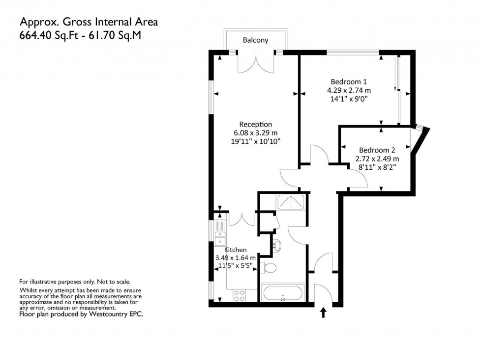 Floorplan for 20-22 College Road, Clifton, Bristol